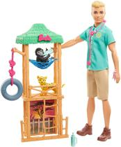 Barbie - Boneco Ken Veterinário da Vida Selvagem - Mattel -