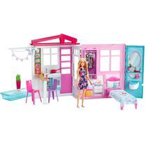 Barbie Casa da Barbie Com Boneca DVV48 - Mattel -