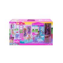 Barbie Casa Glam Com Boneca - Mattel -