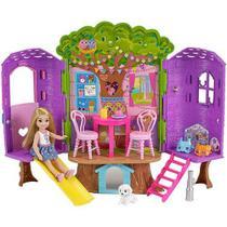 Barbie Casa NA árvore da Chelsea FPF83 - Mattel -