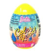 Barbie Color Reveal PET OVO Surpresa Amarelo Matte - Mattel