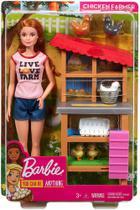 Barbie Conjunto Profissões DHB63/FXP15 Granjeira - Mattel (5382) -