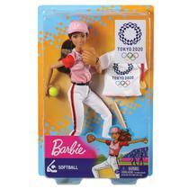 Barbie Esportista Olimpica - Softbol MATTEL -