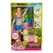 Barbie Family Passeio com Cachorrinho - Mattel