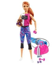 Barbie Fashionista - Dia De Spa Fitness GKH73/GJG57- Mattel (4129)