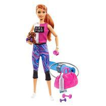 Barbie Fashionista Dia de Spa Fitness - Mattel - Mattel, Hot Wheels