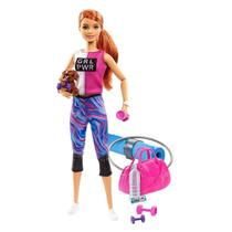 Barbie Fashionista Dia de Spa Fitness - Mattel