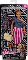 Barbie Fashionistas - 102 Curvilínea - Mattel