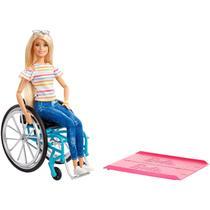 Barbie Fashionistas Cadeira De Rodas GGL22 - Mattel -