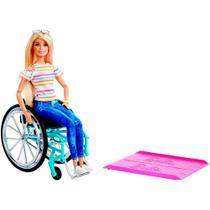 Barbie Fashionistas Cadeira de Rodas - Mattel -