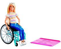 Barbie Fashionistas Loira Cadeira De Rodas - Mattel -