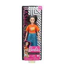 Barbie Fashionistas Rara nº 145 tranças longas e morena - Mattel