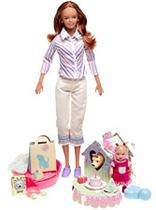 Barbie Happy Family Vizinhança Midge e Nikki primeiro aniversário - Mattel