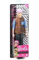 Barbie Ken Fashionista GYB05 Cabelo Roxo Mattel -