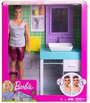 Barbie Ken Móveis de Banheiro- MATTEL FYK51 -