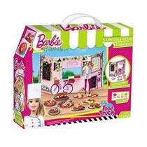 Barbie Massinha De Modelar Cantina E Pizzas Food Truck - Fun