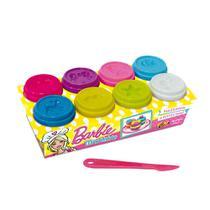 Barbie Massinha Divertida Com 8 Potes - Fun Divirta-Se -