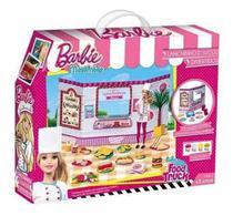 Barbie - Massinha food Truck Lanchinhos e Sucos Divertidos 7968-2 - Fun -