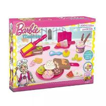 Barbie Massinha Sorveteria Divertida FUN 7613-4