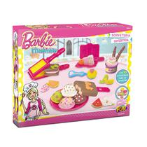 Barbie Massinha Sorveteria Divertida - Fun Divirta-Se -