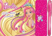 Barbie - meu diário encantado - com caneta mágica - Ciranda Cultural