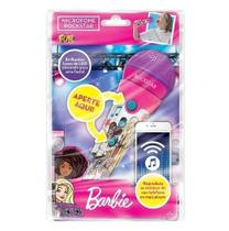 Barbie Microfone Rockstar Infantil - Fun -  UNICA -