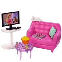 Barbie Móveis Básicos Sala de Estar - Mattel -