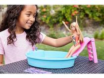 Barbie - Piscina Chique C/ Boneca Barbie - Mattel Ghl91 - Mga