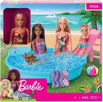 Barbie Piscina Chique com Boneca - Mattel -