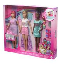 Barbie Princess Adventure Festa Do Pijama Com Amigas Mattel -
