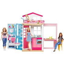 Barbie Real Barbie E Sua Casa Mattel