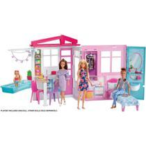 BARBIE - REAL CASA GLAM COM BONECA xxxx - Mattel