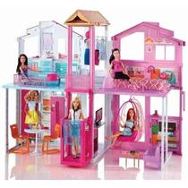 Barbie Real Super Casa 3 Andares Dly32 - Mattel