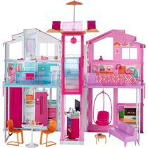 Barbie Real Super Casa 3 Andares Mattel DLY32