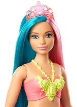 Barbie sereia verde/rosa * -