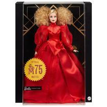 Barbie Signature Colecionável Aniversário 75 Anos Mattel GMM98 -