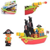 Barco Aventura Pirata c/ 2 Bolas - 137395-C - Mercotoys -