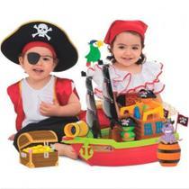 Barco Aventura Pirata - Caixa - Mercotoys - Merco Toys