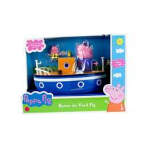 Barco com Vovô Pig - Peppa Pig - Sunny -