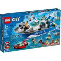 Barco da Patrulha da Polícia - Lego City 60277 -