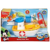 Barco Do Pato Donald Mickey Mouse Clubhouse Cjd97 Fisher Price - Mattel