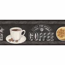 Barra Adesiva Litoarte BDA-IV-719 Coffee is Love 43,6x4cm -