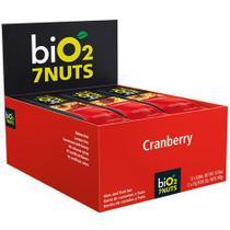 Barra Castanha/Cranberry/Nuts 12un X 25G Bio2 -