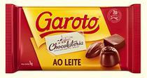 Barra de Chocolate ao Leite 1kg - Garoto -