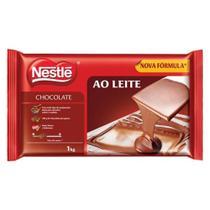Barra de Chocolate Ao Leite 1kg - Nestlé - Nestle