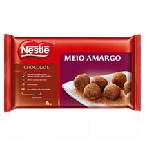 Barra de Chocolate Meio Amargo 1kg - Nestlé - Nestle