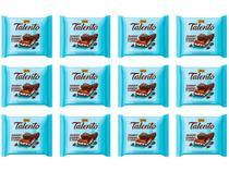 Barra de Chocolate Talento Ao Leite com  - Cookies e Cream 90g 12 Unidades Garoto
