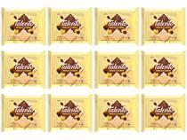 Barra de Chocolate Talento Branco com Cereais  - e Passas 90g 12 Unidades Garoto
