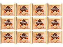 Barra de Chocolate Talento Branco com  - Doce de Leite 90g 12 Unidades Garoto