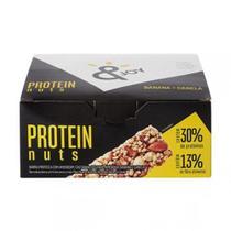 Barra de Protein Nuts Banana e Canela 35g x 12 - JOY - Enjoy